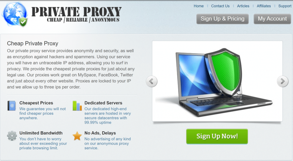 cheapprivateproxy overview