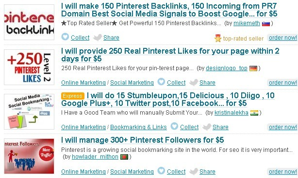 Pinterest Followers,Pinterest Repin and Pinterest Likes Service