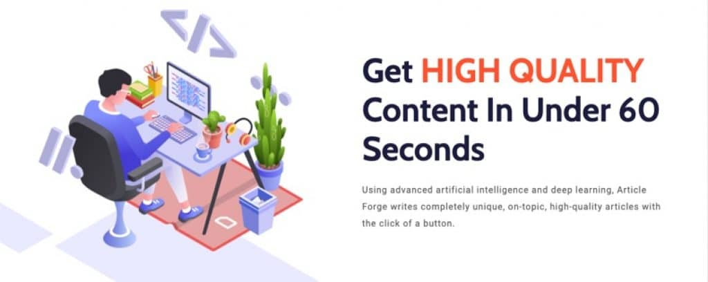 AI-powered content generation