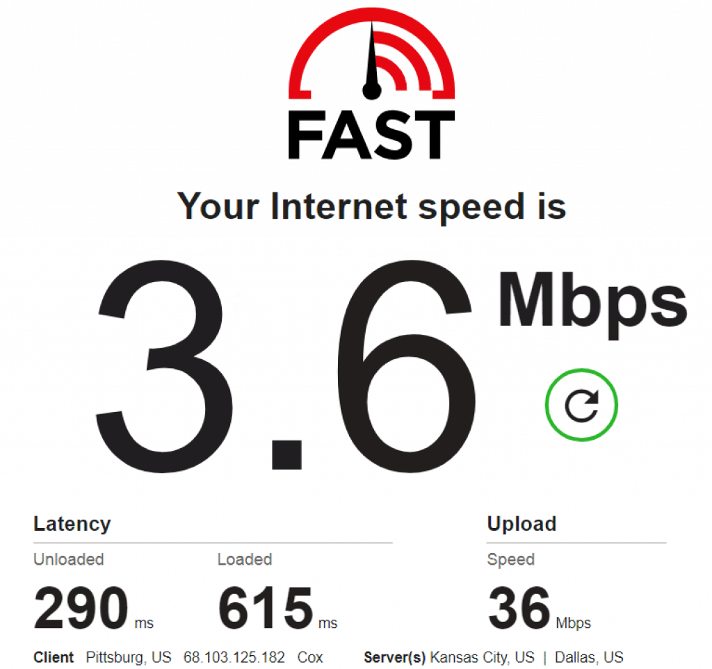speed test: 68.103.125.182