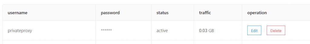 User -privateproxy