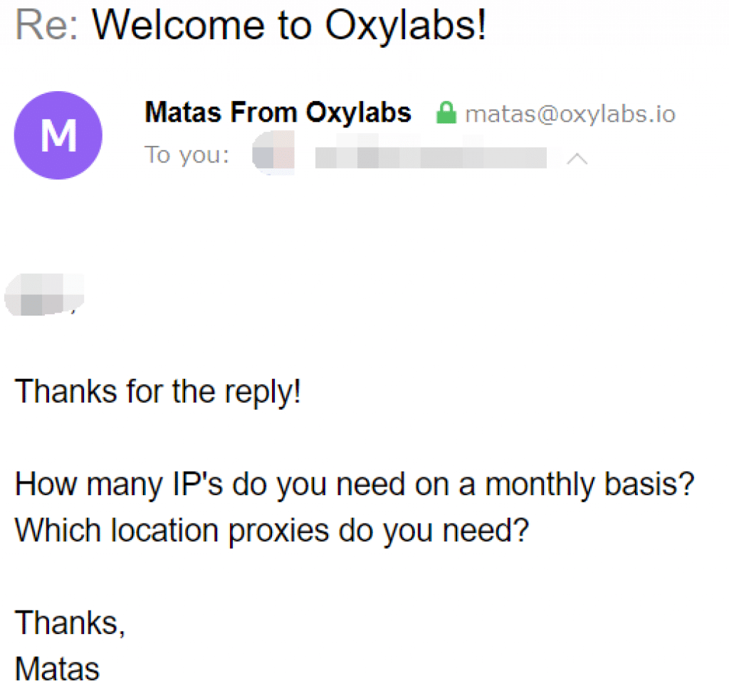 inquiries from oxylabs
