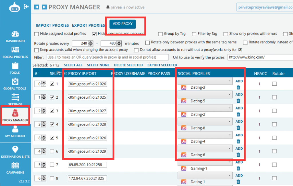 Proxy Manager