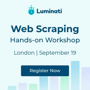 Web Scraping Meeting - London Sep 19