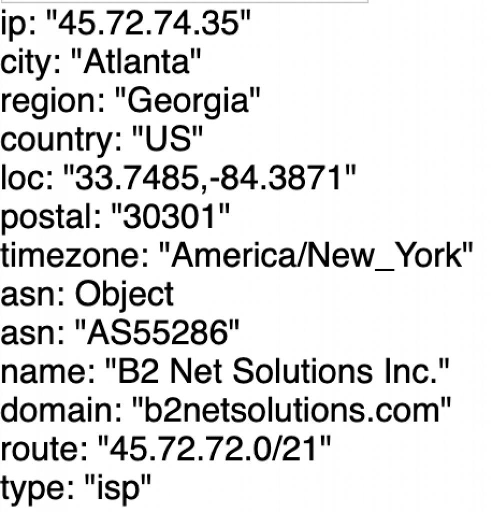 ISP testing to scraperAPI