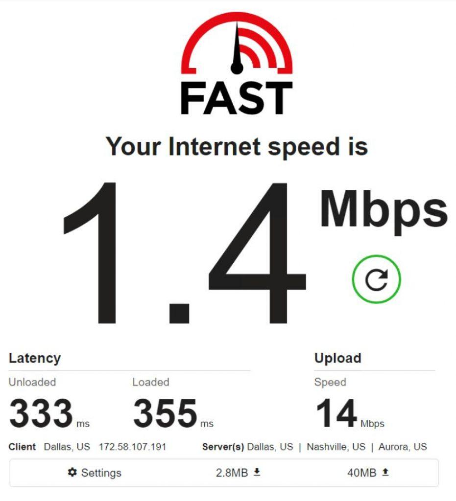 Mobile IPv4 / Location: US / Test 1