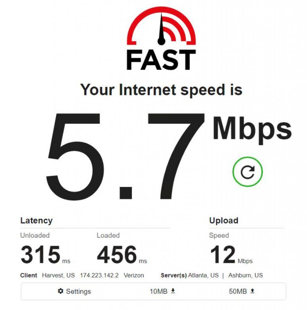 Mobile IPv4 / Location: US / Test 2