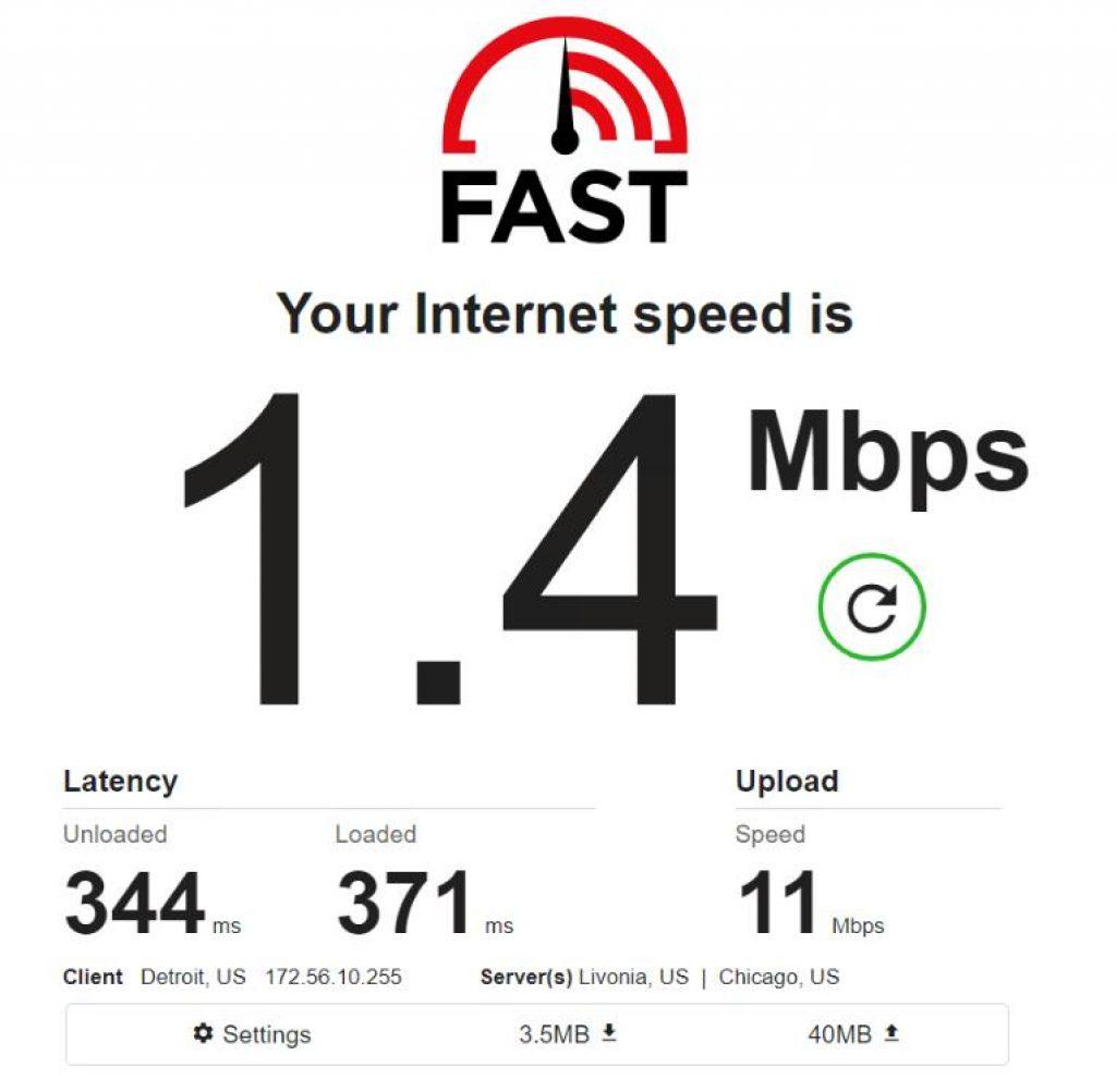Mobile IPv4 / Location: US / Test 3