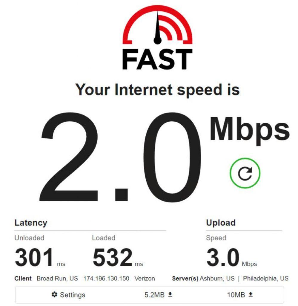 Mobile IPv4 / Location: US / Test 4