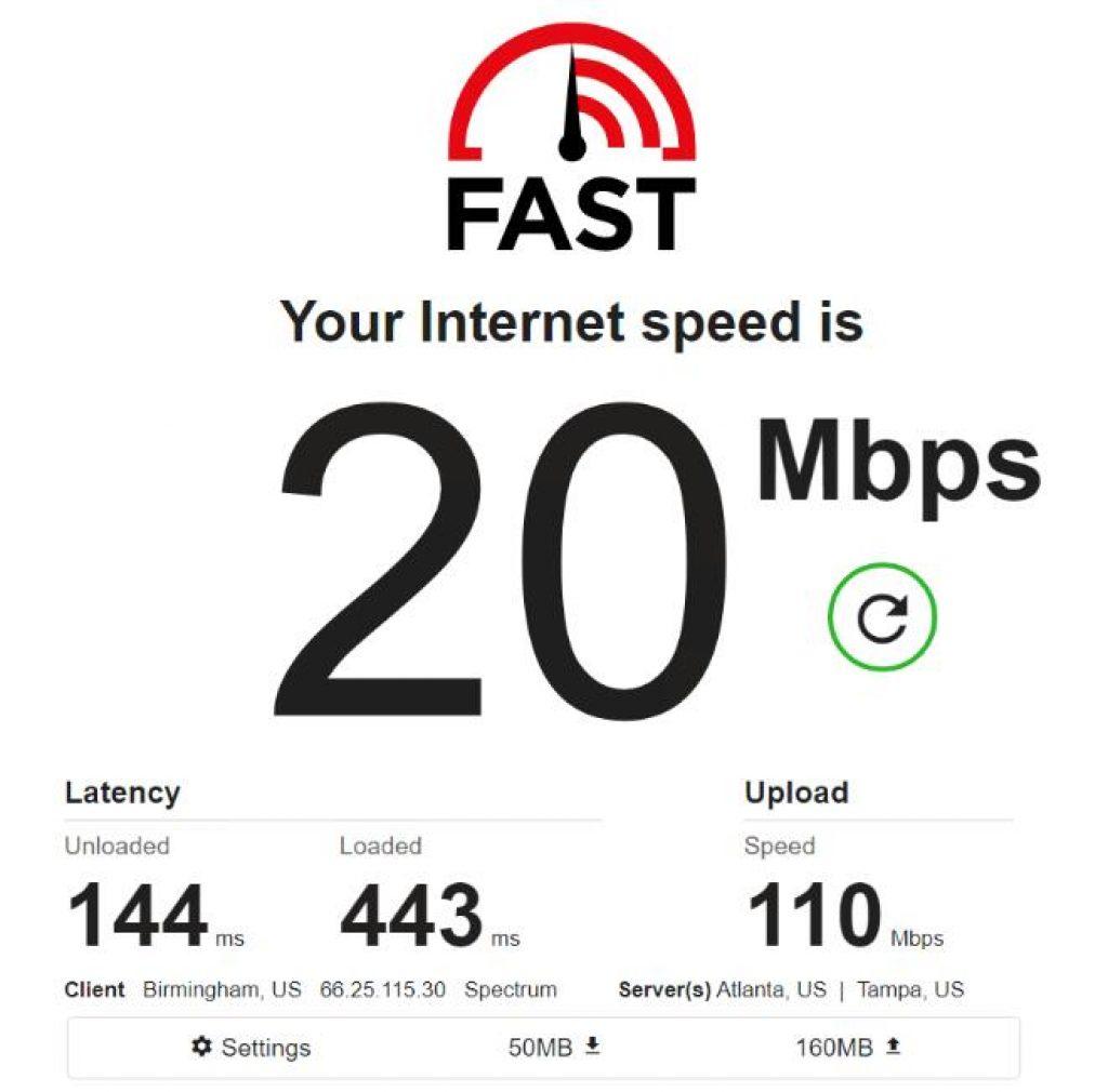 Residential IP - US - Test 1