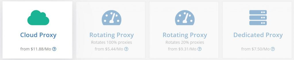 Webshare Proxy Type