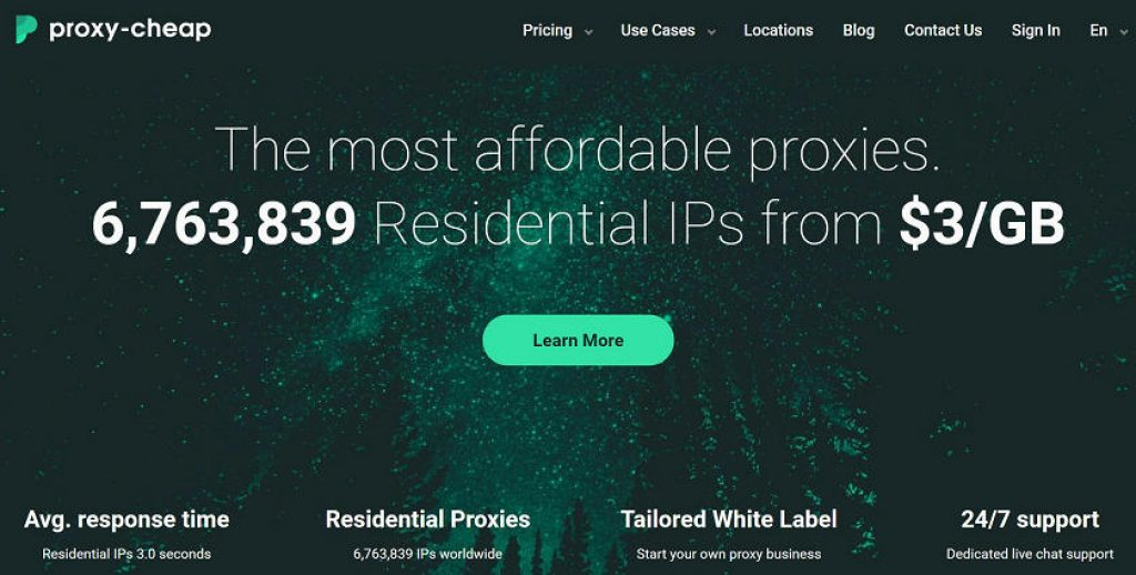proxy-cheap Residential IPs