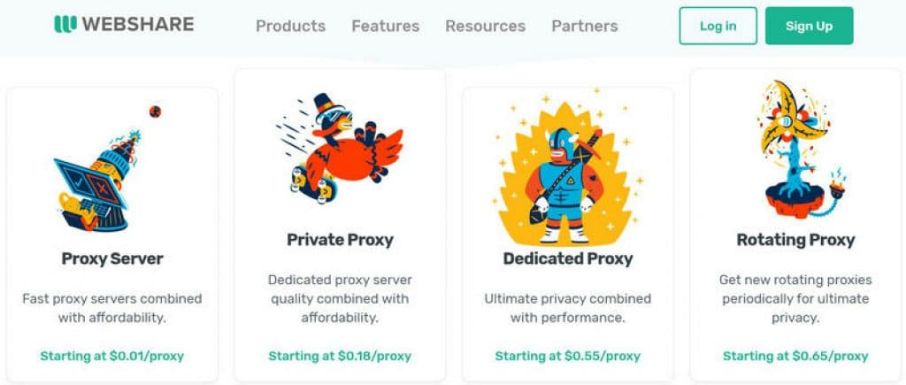 webshare proxy