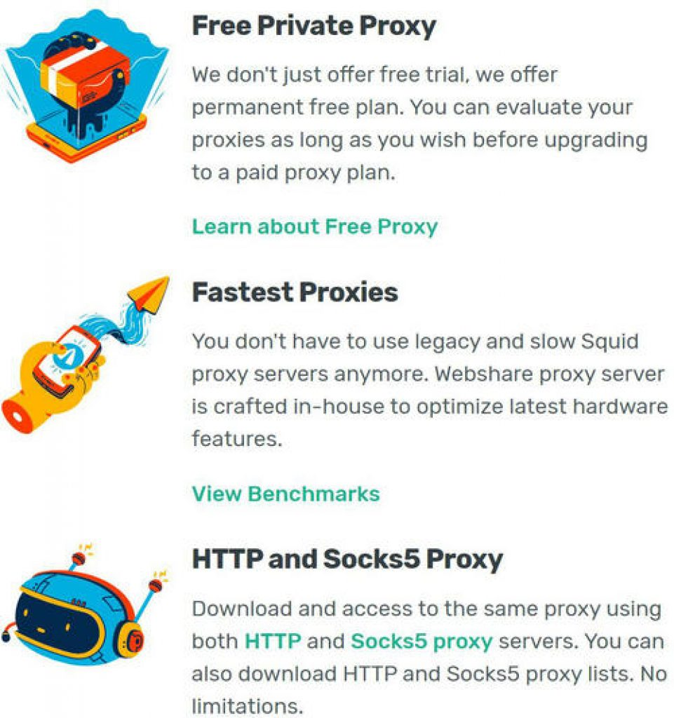 why webshare proxy