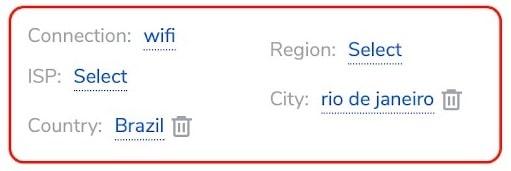 Residential Rio Targeting settings