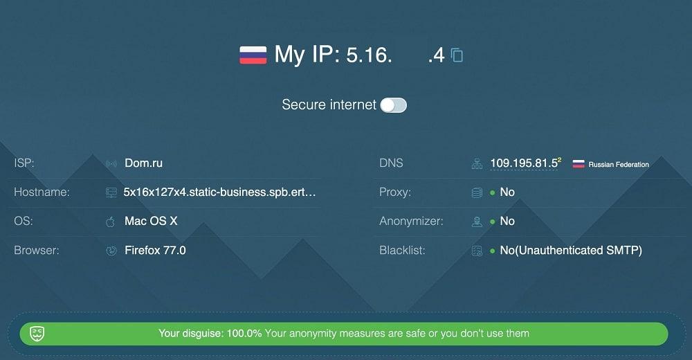 Residential Saint Petersburg isp