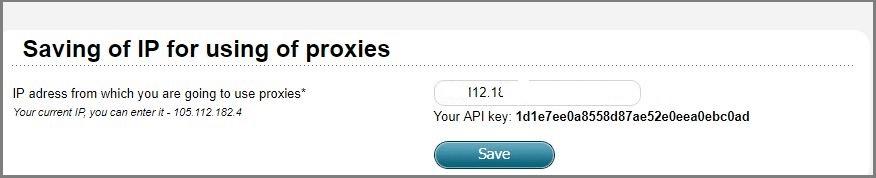 Awmproxy api information