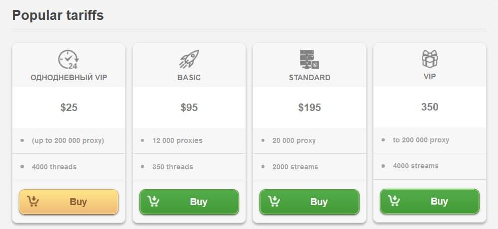 Awmproxy payment methods