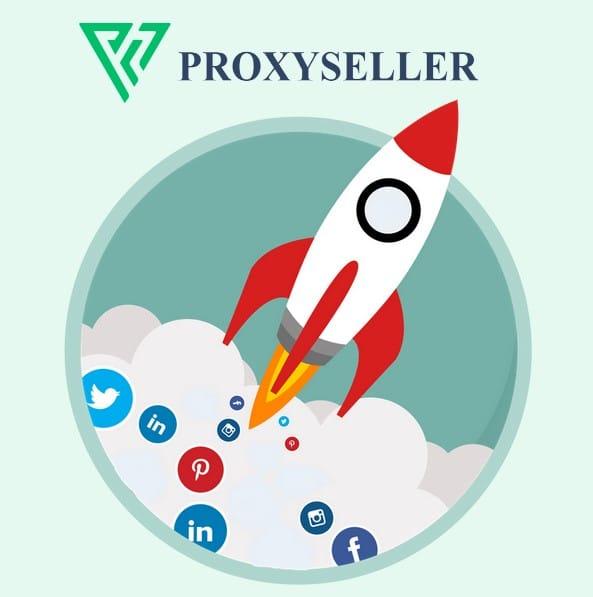 Proxy-seller Social media management