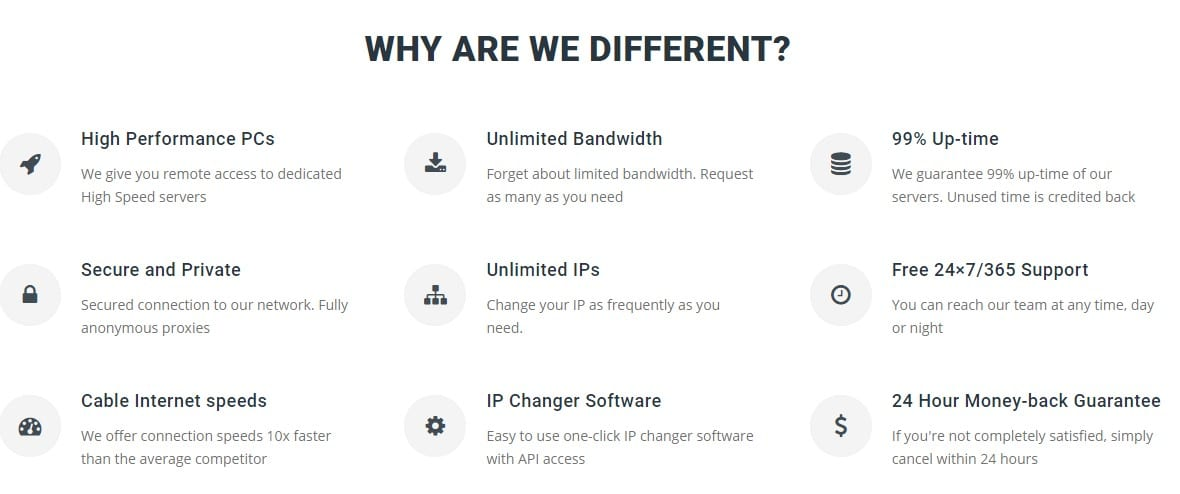 Features of DSL Rentals