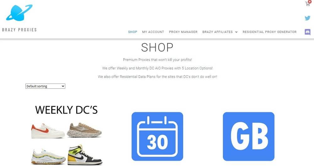 Brazy Kicks Home Page
