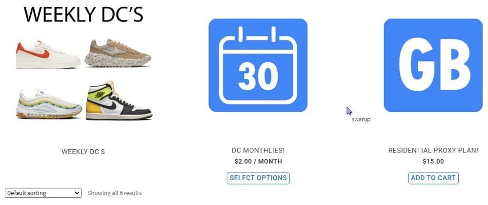 Brazy Kicks Pricing