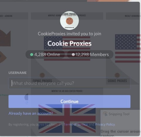 Cookie Proxies support