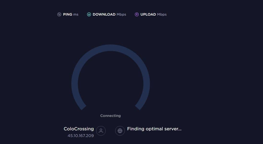 Fineproxy Incomplete Speed Testing