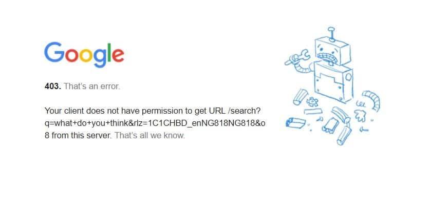 Fineproxy Speed Testing error with google