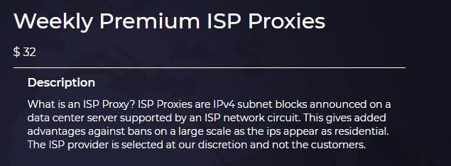 Surge Proxies Premium ISP Proxy Plans