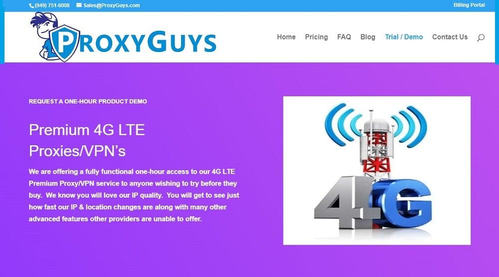working mechanism of ProxyGuys
