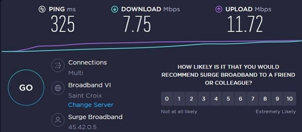 ABM proxy server speed test