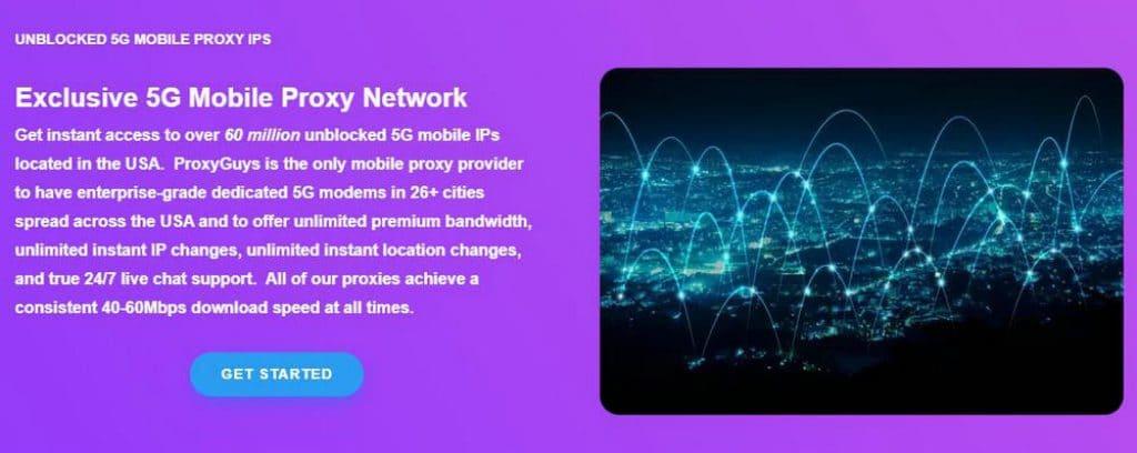 ProxyGuys mobile proxy
