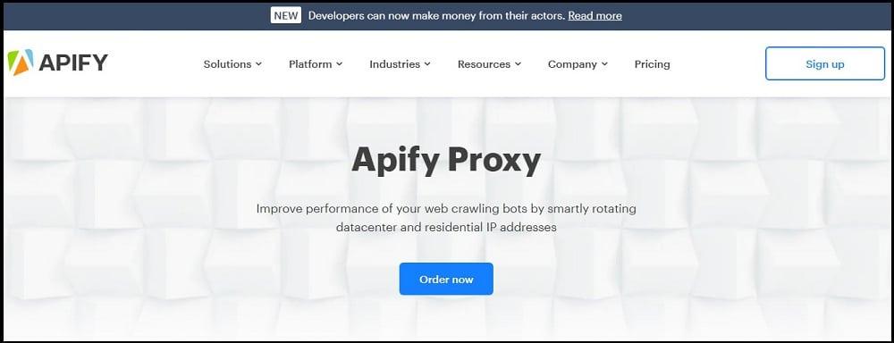 Apify Proxy overview