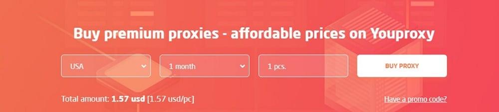Youproxy Pricing