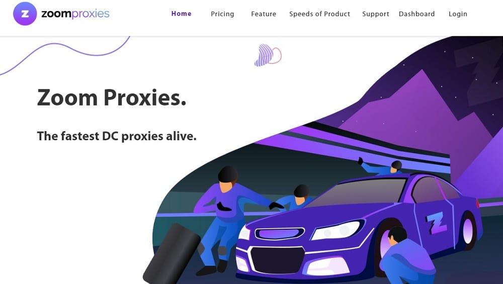 Zoomproxies Homepage
